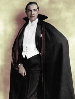 Bela Lugosi as Dracula - Colorized by OldHank