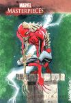 ZOMBIE SPIDERMAN SKETCH CARD by RM73