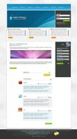Template: Web2.0 bloggr by sunDox