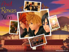 KH- Axel, Roxas And Xion by EmotionalDisaster666