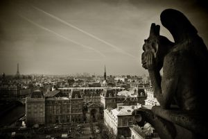 Paris Gargoyle 1 by Phil-Norton