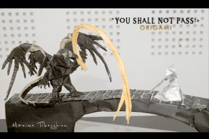 YOU SHALL NOT PASS OrigamI by NeptuneMOD