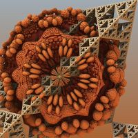 A Fractal Squirrel's Nest by Jing-reed