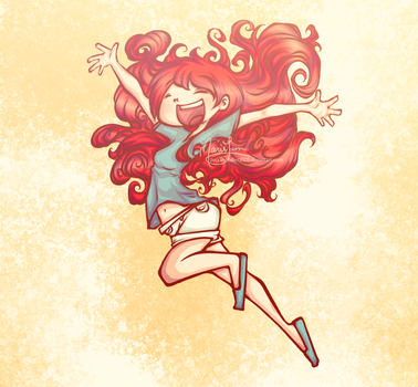 Karin McKonnoroy- Poof Hair by PuccaNoodles2009
