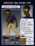 Survive the Night OCT: James Hofman application by Keilythefox