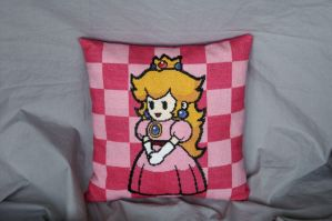 Peach Pillow by Khatmandu