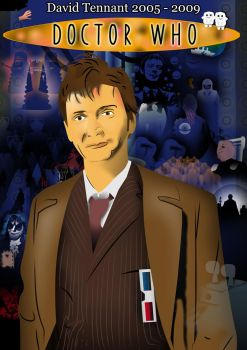 Doctor Who - David Tennant by David-Kingo