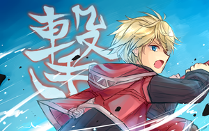 Shulk Doodle by camikawaii