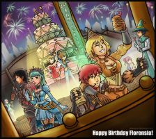 Florensia First Anniversary by Jatearica