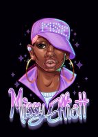 Missy Elliott by CamiFortuna