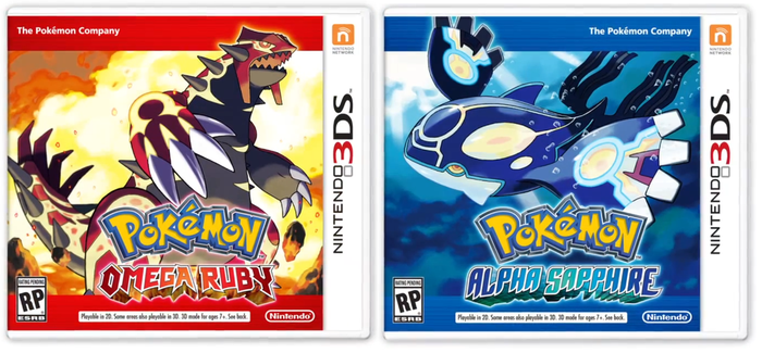 Omega Ruby and Alpha Sapphire by x-Darkie-x