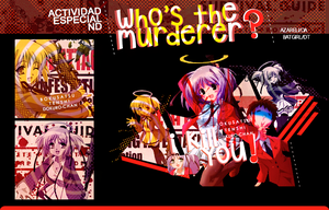 ND|Who's the murderer?| by azareli