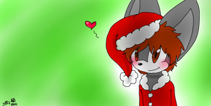 Day 7- Hounds Festive spirit by dreamer-the-wolf-3