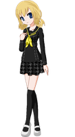 Minami Hino (Persona 4 OC) by Cj-says-hey