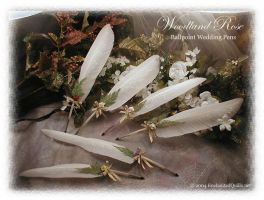 WOODLAND ROSE BP Pens by ChaeyAhne