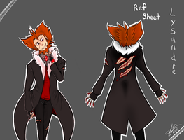 Controlled lydandre's Ref sheet by yamihp7
