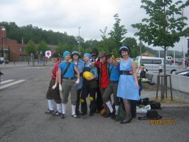 Desucon 2011 - Tf2 group by Corgiez