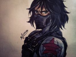 Bucky Barnes / Winter Soldier by Anastasia1312