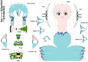 [[ Template ]] Sinon - ALfheim Online Cubeecraft by Kevin-BS23