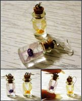 Zelda Majoras Mask - Tatl and Tael Fairy Earrings by YellerCrakka
