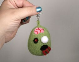 Plush Zombie Key Chain by Saint-Angel