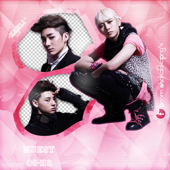 +Pack Png {NUEST - 1} by ChaeliCamo