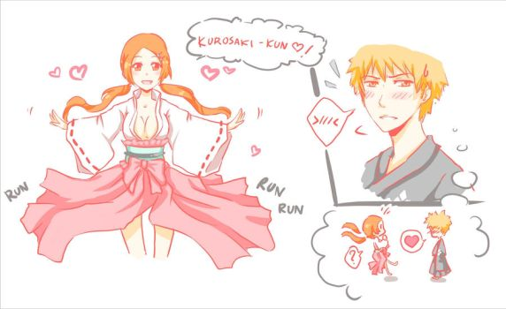 Ichigo dont think... say it by Quiss