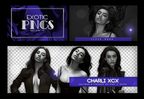 Pack Png 666 // Charli XCX. by ExoticPngs