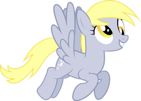 Derpy Hooves (Re-Vectored) by Silentmatten