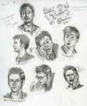 More Doctor Sketches by Girl-on-the-Moon