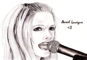 Avril Lavigne by My-Sin-Is-You