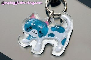 Kitten Cell Phone Charm by xLilithScreamx