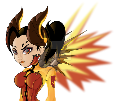 Mercy Devil's Skin by HaruInkisitor