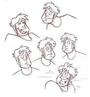 Dirk Faces by Sheana
