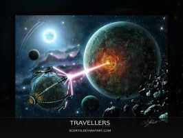 Travellers by Scortis