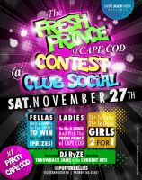 Club Social Fresh Prince Flyer by AnotherBcreation