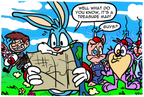 Tiny Toons - Buster's Hidden Treasure by theEyZmaster