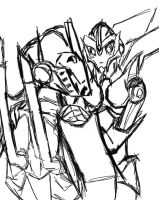 Arcee want something from OP by Shikutoki