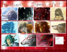2014 Summary of Art by PheonixAurora