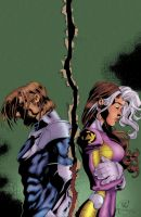 Uncanny X-Men 348 Cover by Amaryth