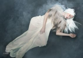 Torn VIII for Dark Beauty Magazine by Michelle-Fennel