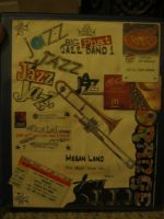 Jazz folder cover collage by LilithVallin