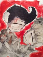 Darkiplier and Shadowmash by huey4ever