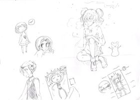 sketches crazy by marina094