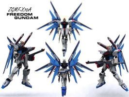 ZGMF-X10A Freedom Gundam by if-i-nvr-knew
