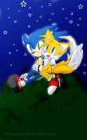 STH-SonicXTails BaCk by temari-fox