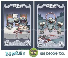 Zombies Are People Too... by Sanaril