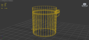 The modern Bin wireframe by Lapt0pGuy