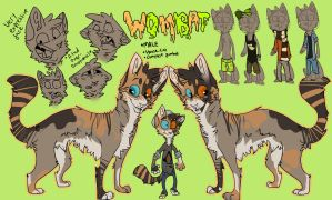 [OLD ]Ultimate Wombat Ref by bedheadd