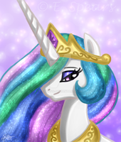 Princess Celestia by I-Dream-of-Speed